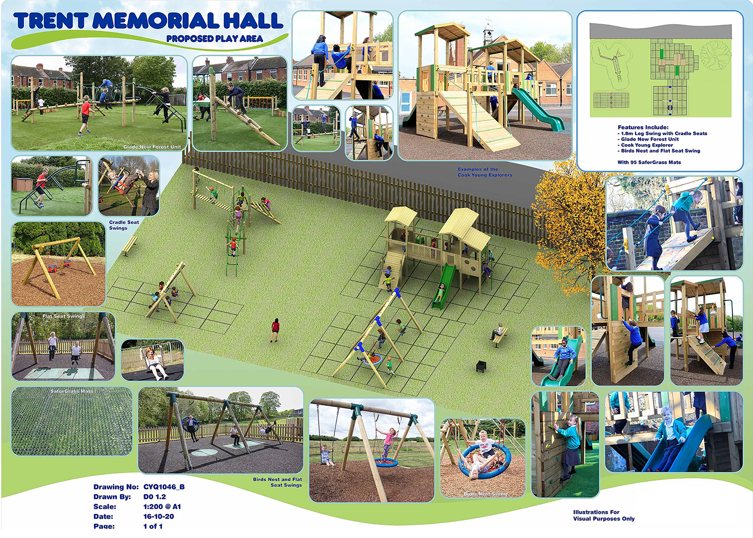 Trent Memorial Hall, hire available to locals, visitors and organisations